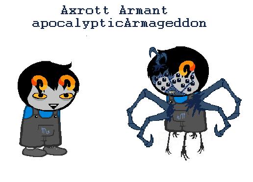 Heinoustuck: Axrott Armant by AngelDevilShapeshift on DeviantArt.