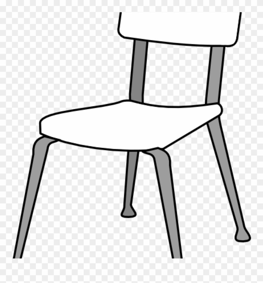 School Chair Clipart White Classroom Chair Clip Art.