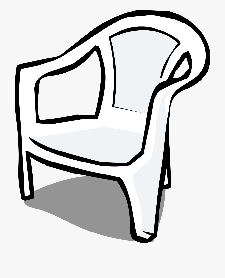 Chair Clipart Black And White Png.