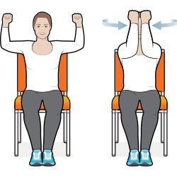 8 Exercise Moves You Can Do in Your Chair: Diabetes Forecast®.