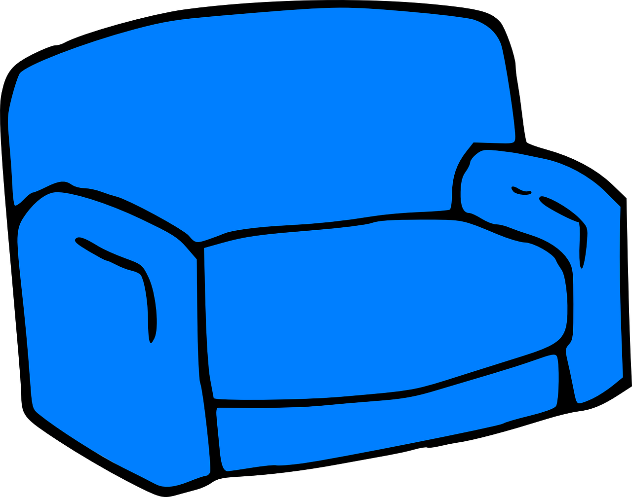 Chair Armchair Sofa Furniture PNG.