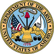 Armed forces emblems clipart.