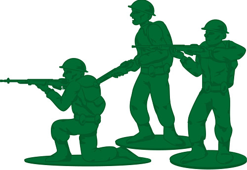 Armed Soldier Clip Art.