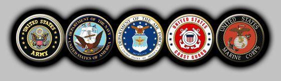 Armed Forces Symbols Clip Art.