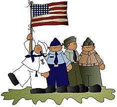 Us armed forces clipart.
