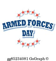 Armed Forces Day Clip Art.