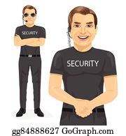 Security Guard Clip Art.