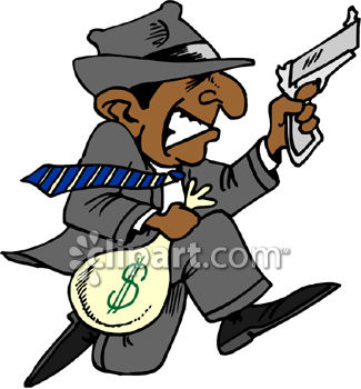 Collection of Robber clipart.