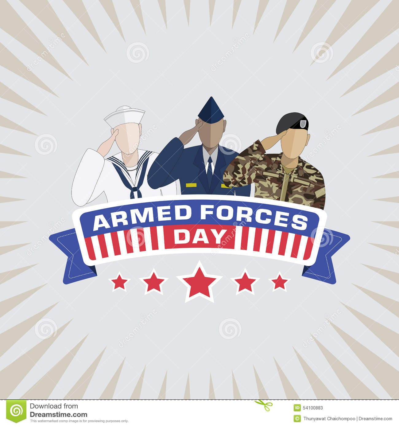Armed Forces Stock Illustrations.