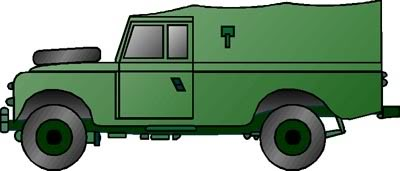 Current British Armed Forces vehicle clipart request..