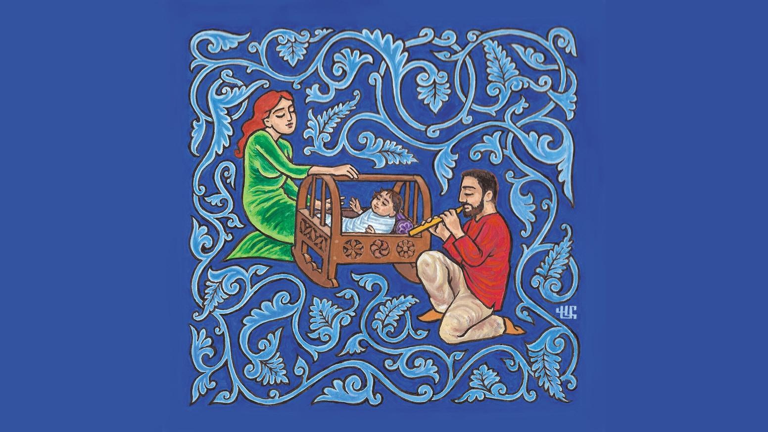 Armenian Lullaby Album by Khatchadour Khatchadourian.