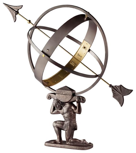 Atlas Armillary Sundial.