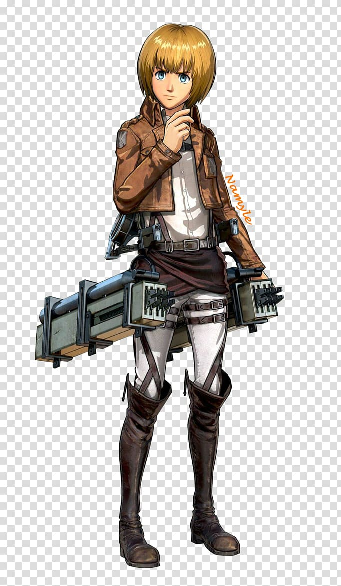 Eren Yeager A.O.T.: Wings of Freedom Armin Arlert Mikasa.