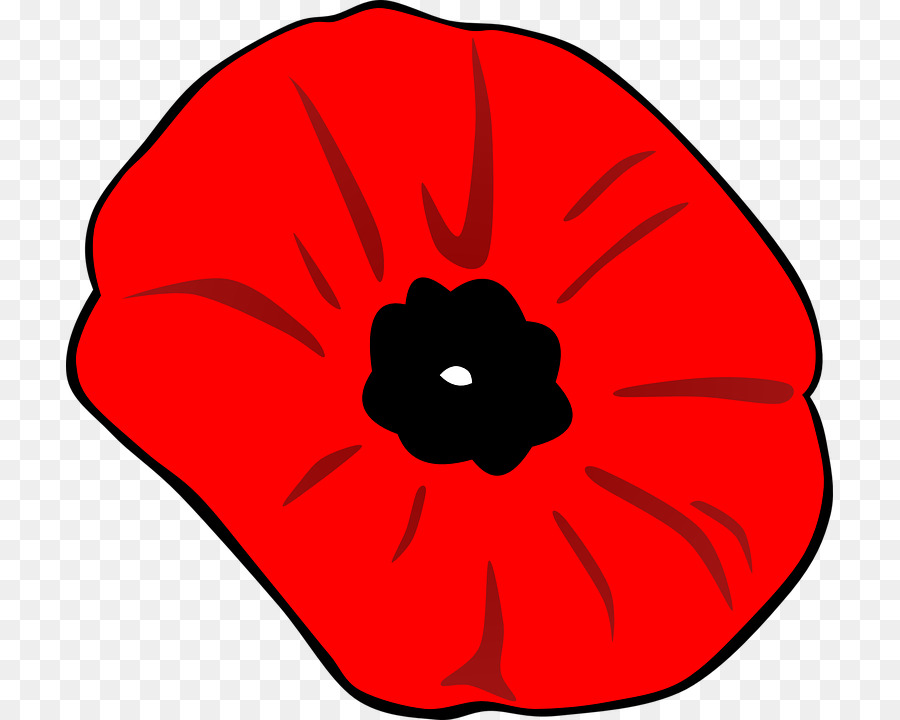 Remembrance Day Poppytransparent png image & clipart free download.
