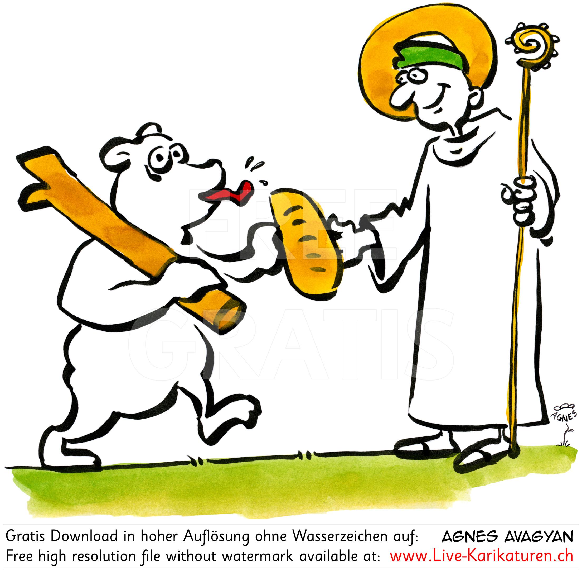 Kriens Gallus Baer Brot weiss.