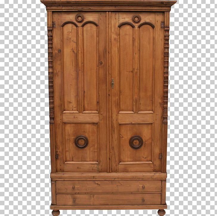 Armoires & Wardrobes Chiffonier Cupboard Drawer Wood Stain.