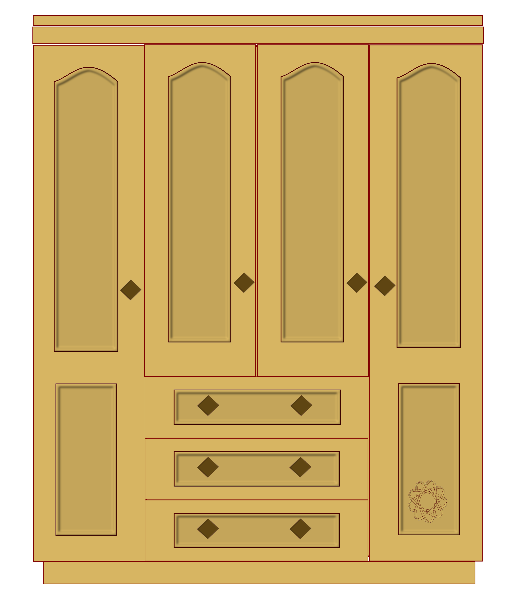 Furniture clipart cupboard, Furniture cupboard Transparent.