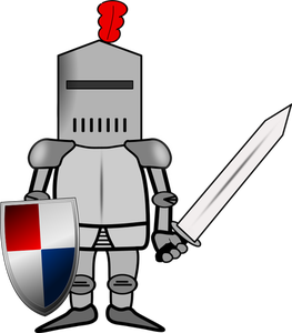 12919 knight in shining armor clipart free.