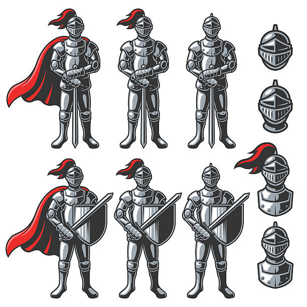 Best Armour Illustrations, Royalty.