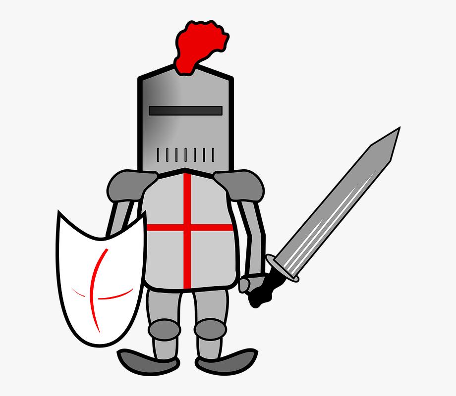 Knight Armor Helmet Clip Art.
