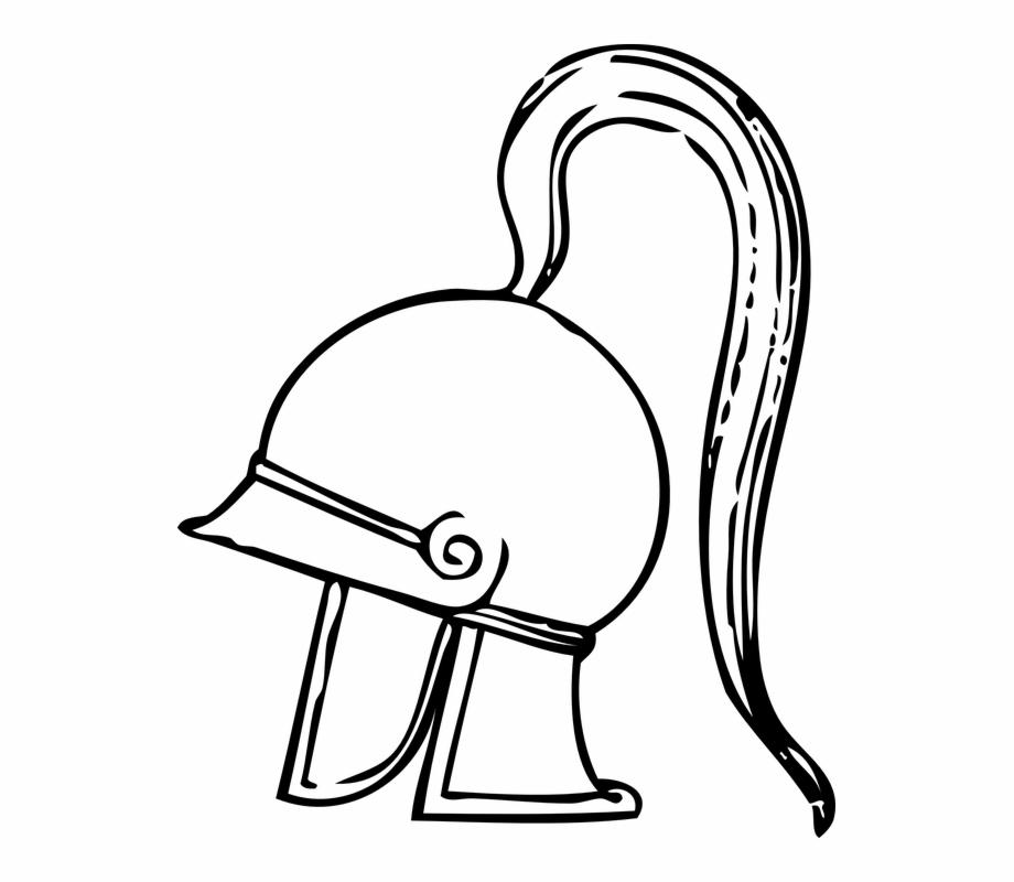 Helmet Armor Fighter Greek Greek Clip Art.