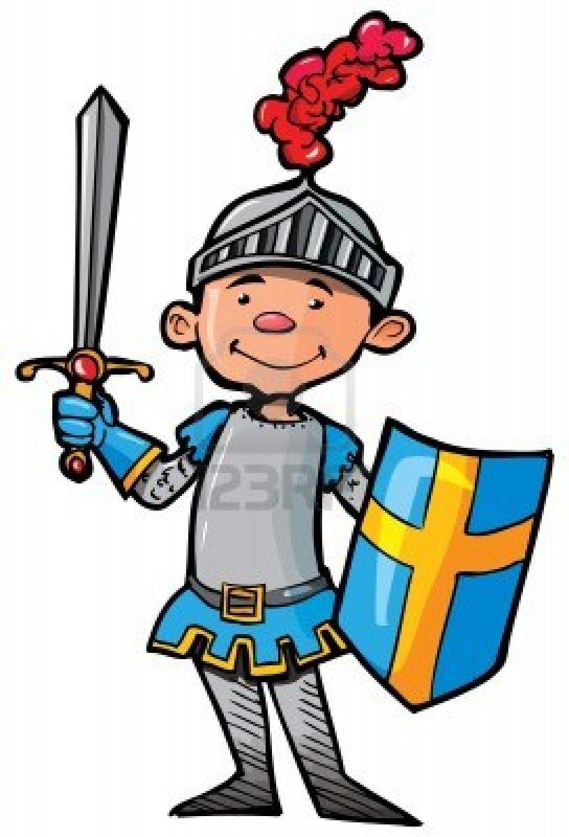 Cartoon Knight Clipart.