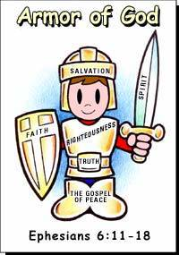 Armor of God Bible Study.
