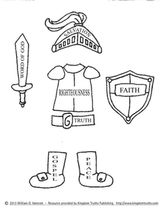Armor Of God Lds Clipart.