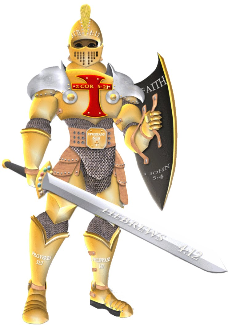 Download warrior full armor of god clipart Armor of God Bible.