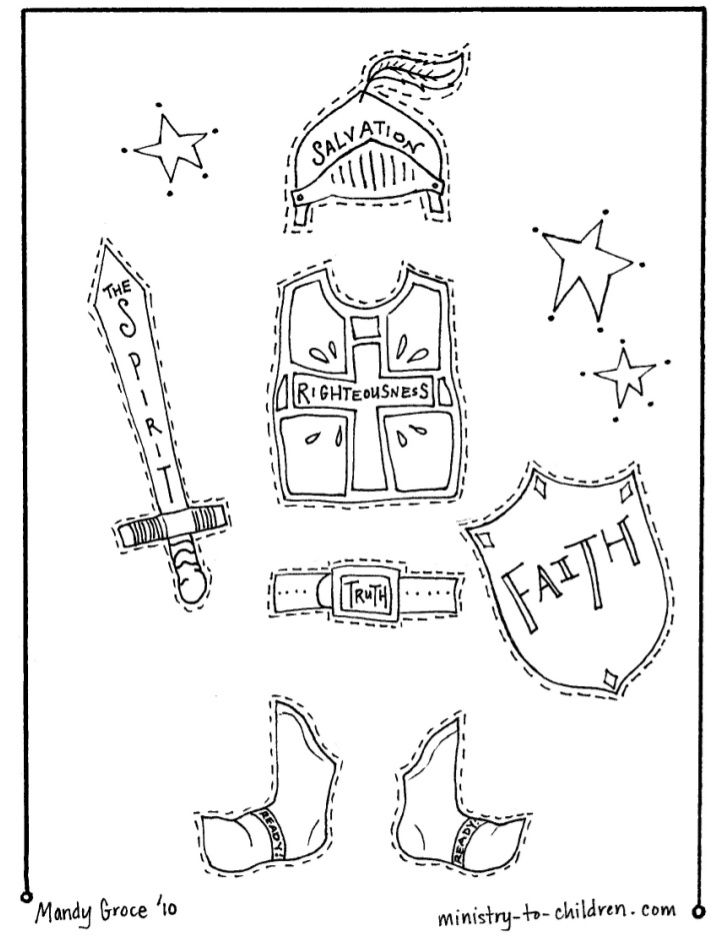 Free Free Coloring Pages For Armor Of God, Download Free.