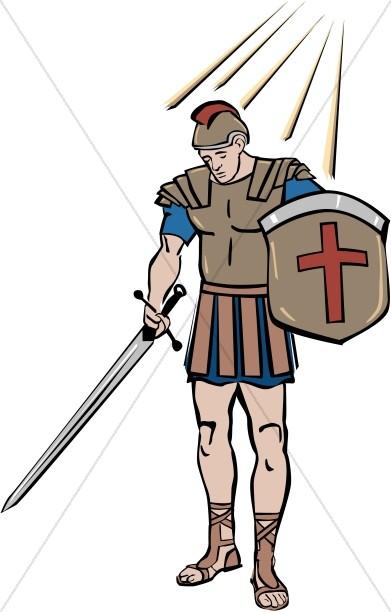 Armor of God Figure.