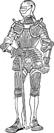 Suit Of Armor Front Clipart Picture Free Download.