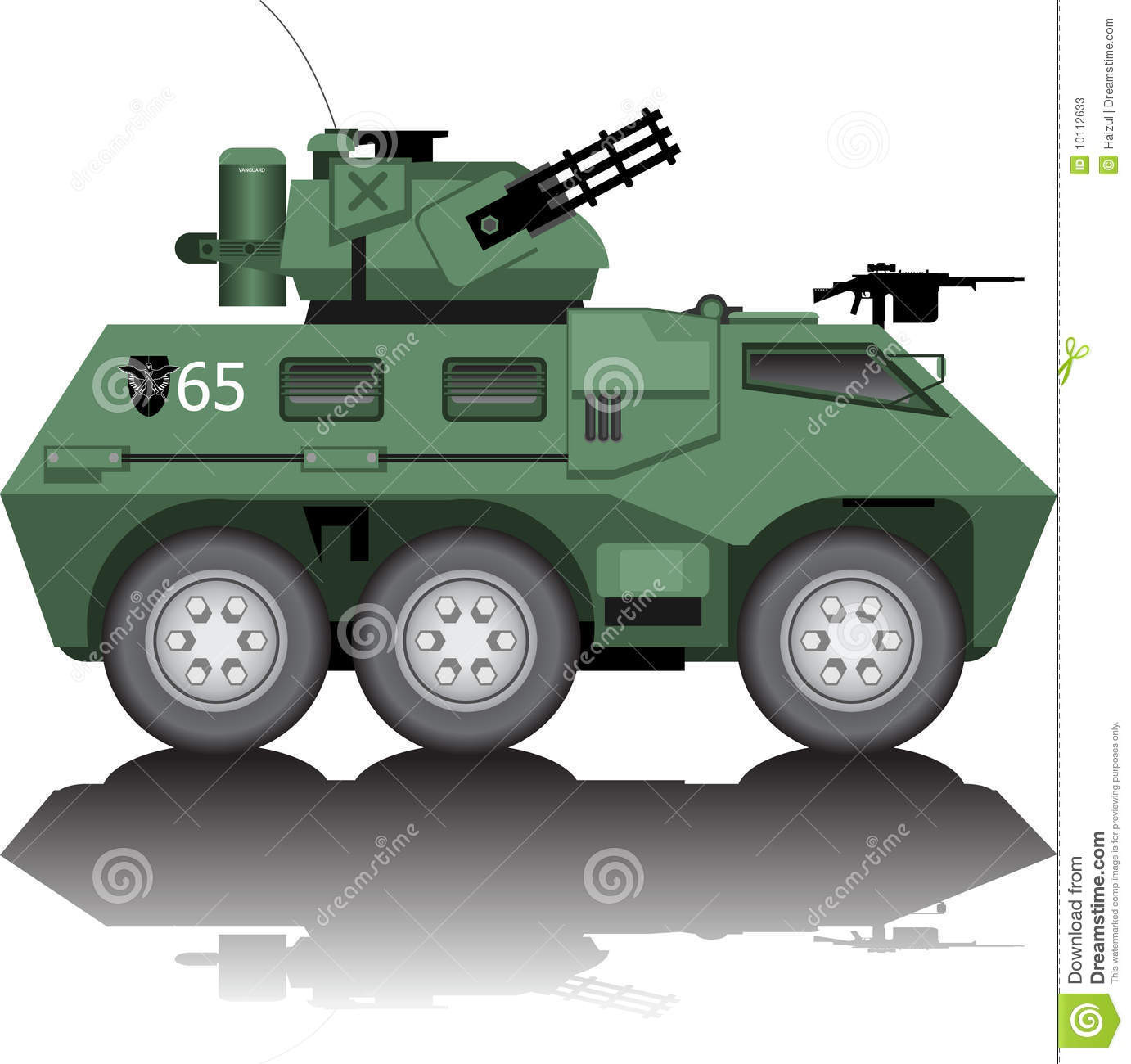 Armored Car Clip Art.