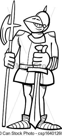 Knight In Armor Clipart.