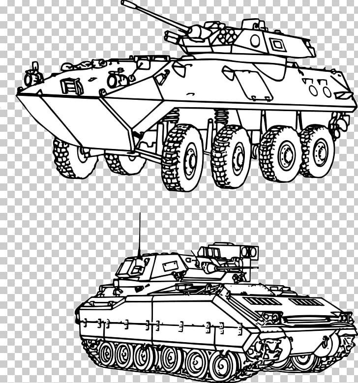 Tank Military Drawing PNG, Clipart, Armored Car, Automotive.