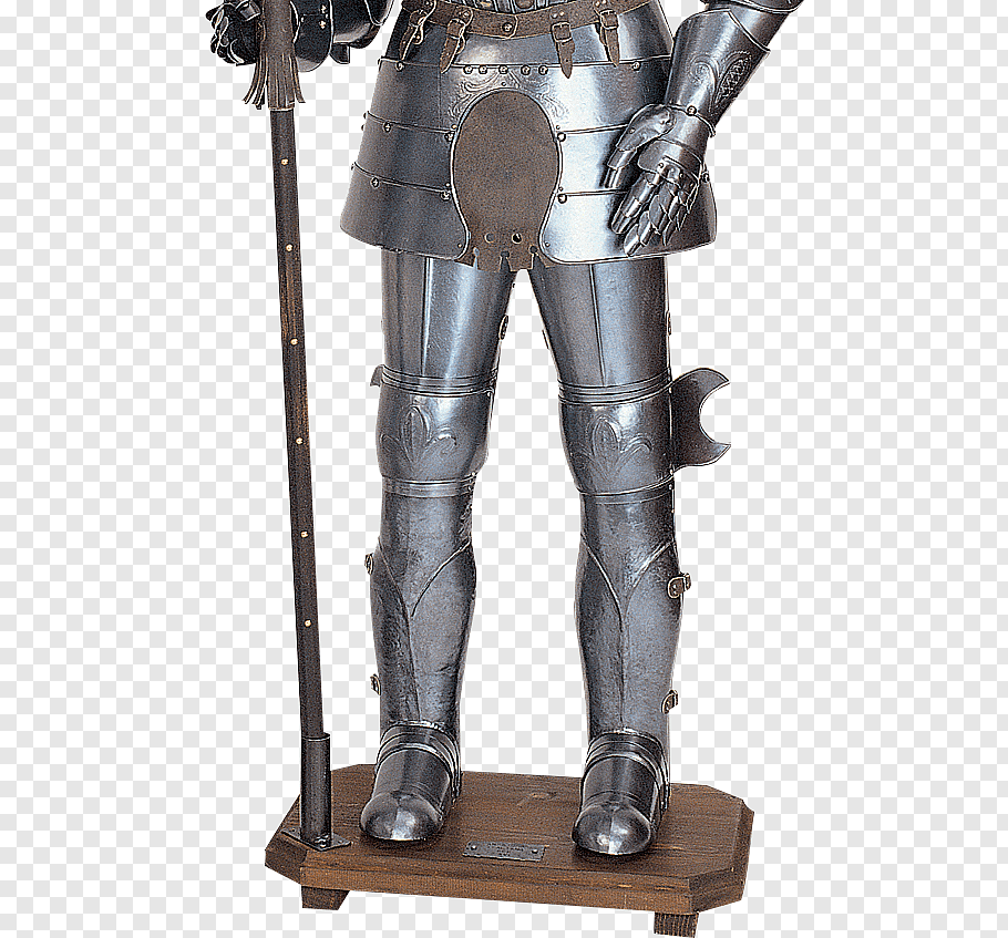 Plate armour Components of medieval armour Knight Middle.