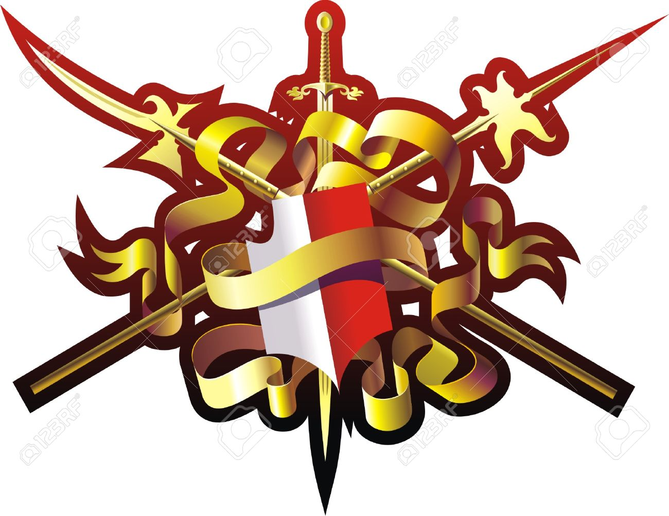 Armorial Bearings Royalty Free Cliparts, Vectors, And Stock.