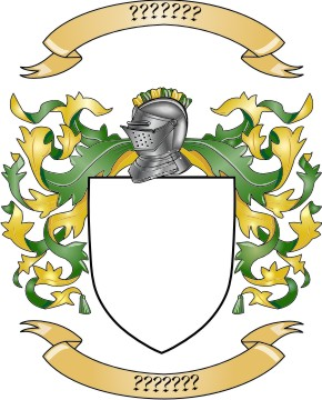 Mantling Clip Art for Your Custom Family Coat of Arms.