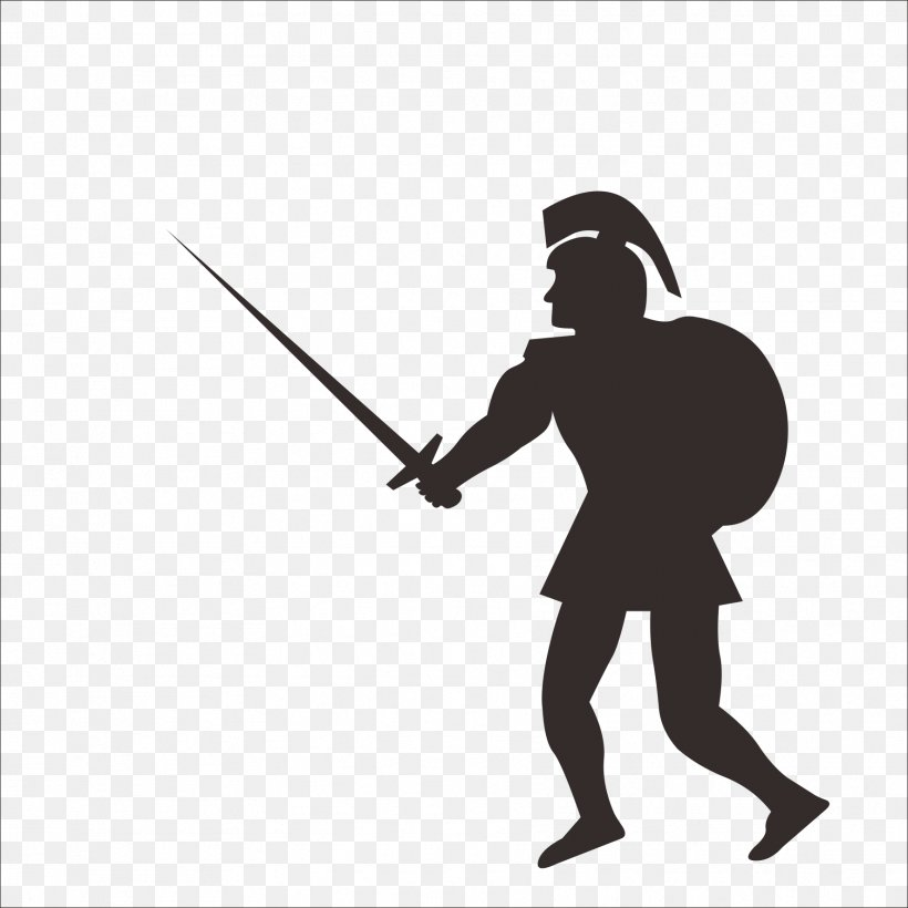 Soldier Gladius Sword Roman Army Clip Art, PNG, 1773x1773px.