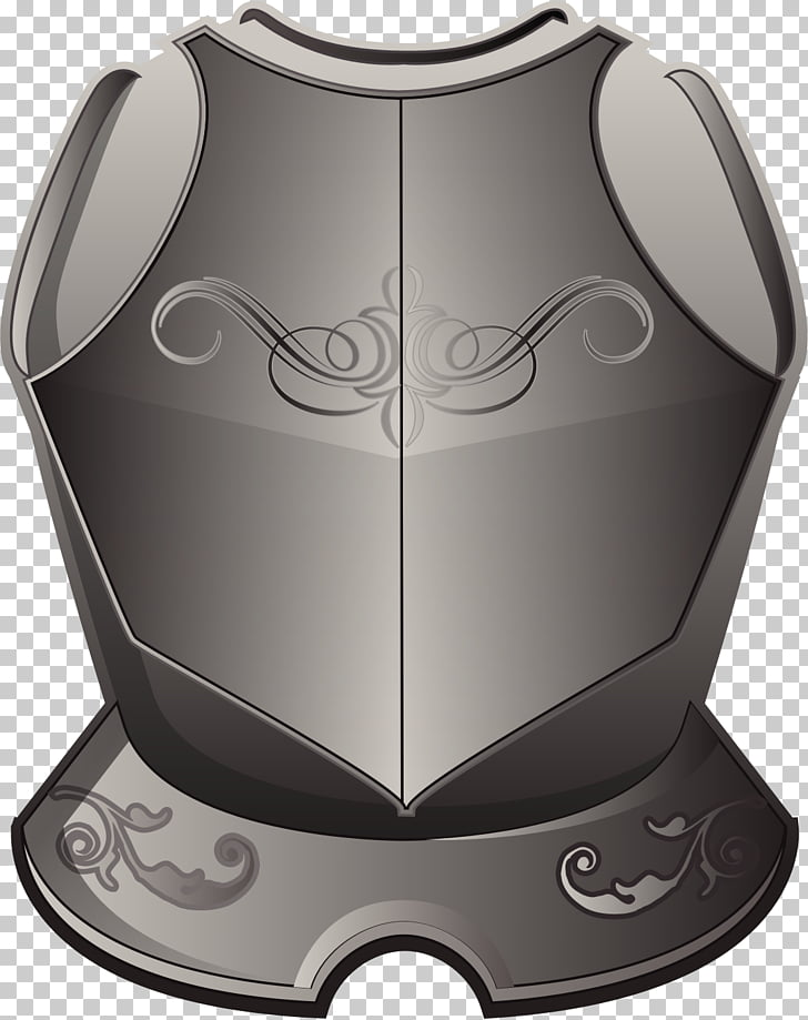 Breastplate Plate armour , breastplate PNG clipart.