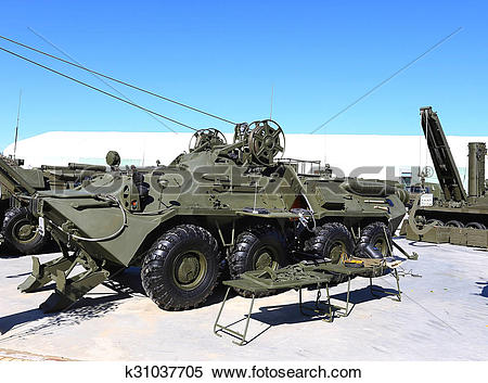 Stock Image of Armoured recovery vehicle k31037705.