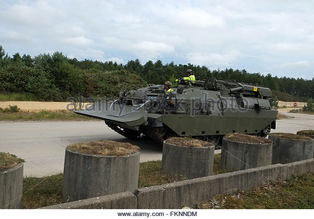 British Army Armoured Recovery Vehicle Stock Photos & British Army.