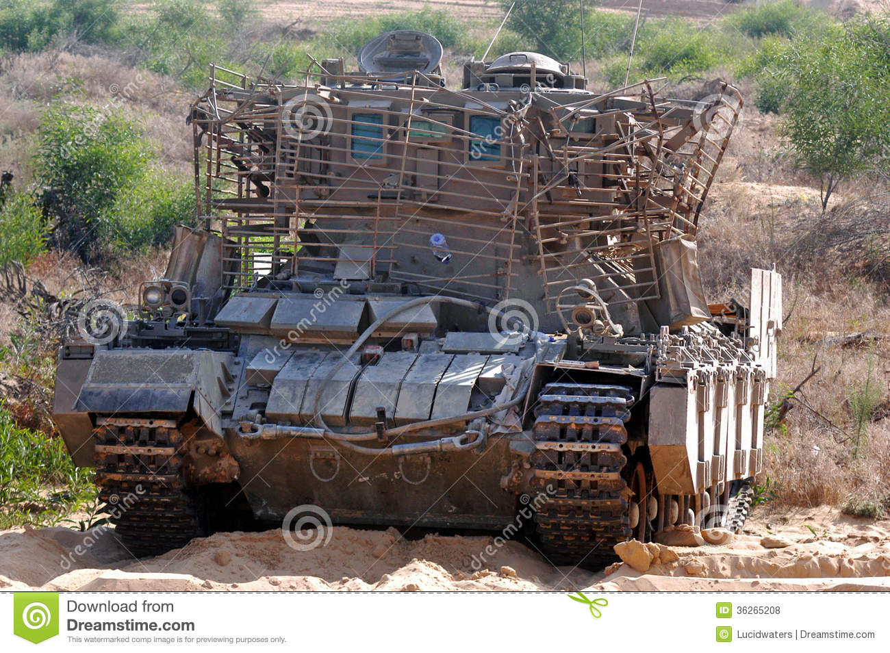 Armoured Recovery Vehicle Editorial Stock Photo.