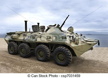 Stock Photographs of Military army, armored vehicle.