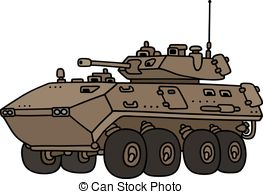 Armoured vehicle Vector Clipart EPS Images. 151 Armoured vehicle.