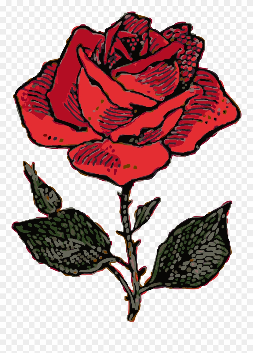 Rose Clip Art Free Clipart Images.