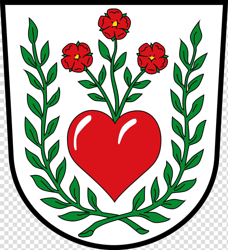 Rose Love Flowers, Frohnlach, Coat Of Arms, Floral Design.