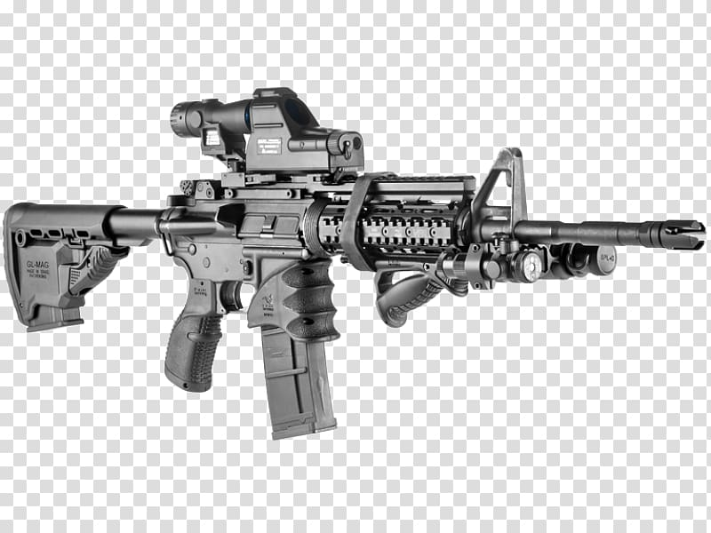M16 rifle Vertical forward grip M4 carbine Arms industry.