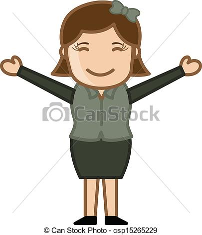 Open Arms Clipart.