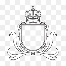 Coat Of Arms Template PNG.
